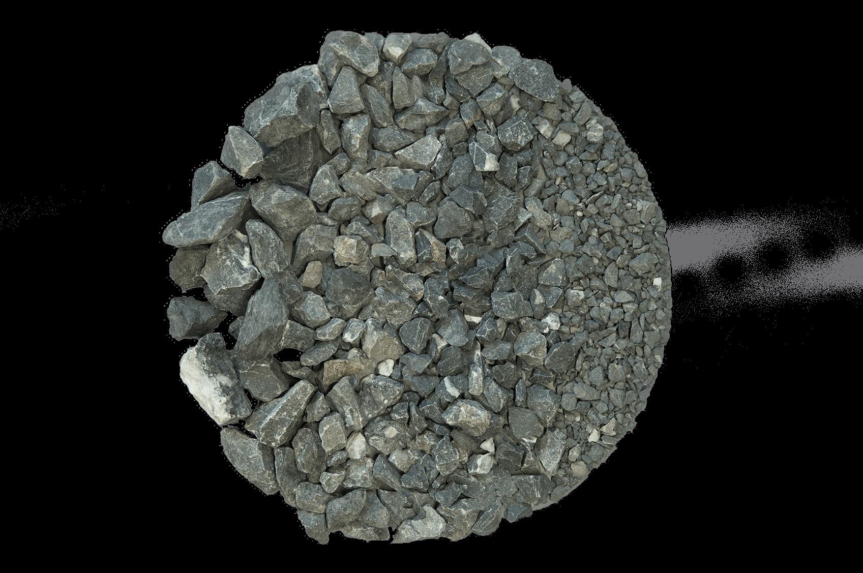 Kalksteen split (steenslag 1)